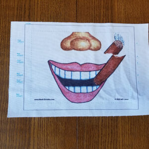 Cigar Smile Mask-ER-Aides Design