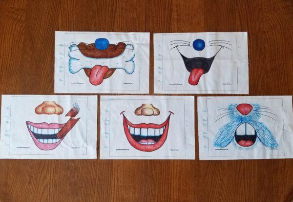Set of 5 Original Mask-ER-Aides
