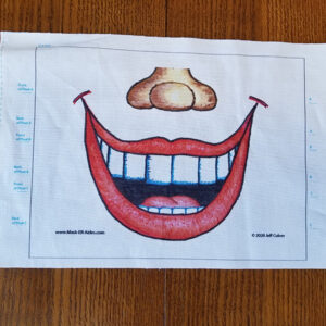 Toothy Grin Mask-ER-Aides Design