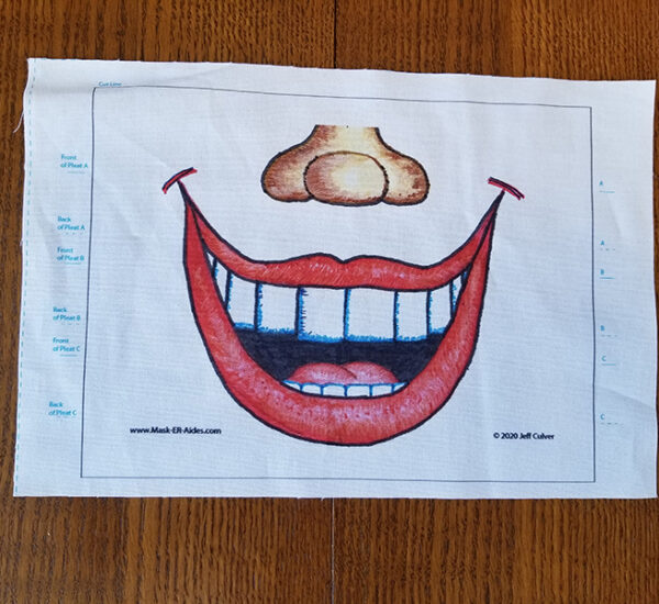 Toothy Grin Mask-ER-Aides Design