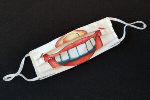 Assembled Toothy Grin Mask