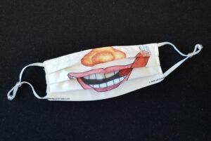 Assembled Cigar Smile Mask