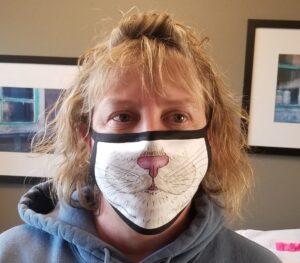 Cat Face Mask - Mask-ER-Aides